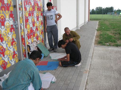 Aquiloni 2011, Imran coordina