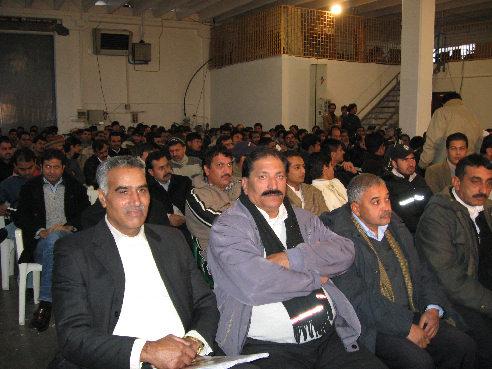 comizio di Qasim a Molinella