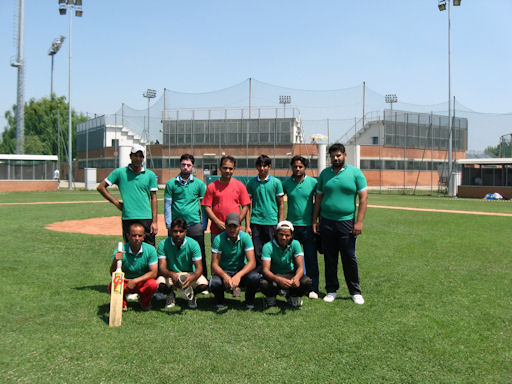Calderara cricket ai Mondiali antirazzisti 2011