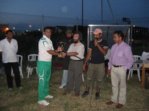 Premiazione ottavo torneo