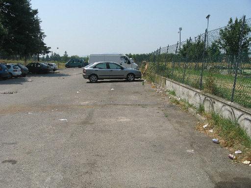 Parcheggio senza cassone