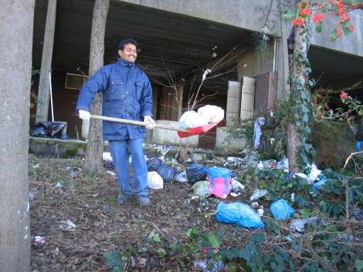 Peter alle pulizie del 18 dicembre 2005