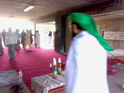 Ramadan 2009, turbante verde