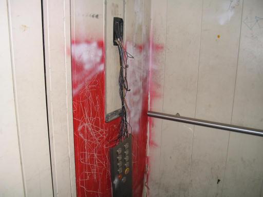 rottura dell'ascensore