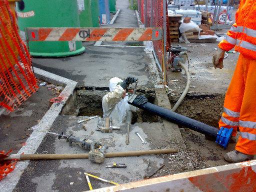 tubo rotto novermbre 2009