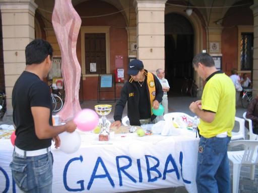in piazza a San Giovanni